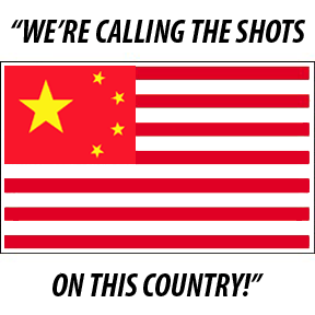 China owns the USA