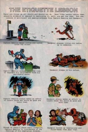 Deadpool's Etiquette Lesson