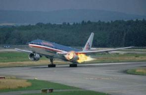 Airplane Engine Blow Out