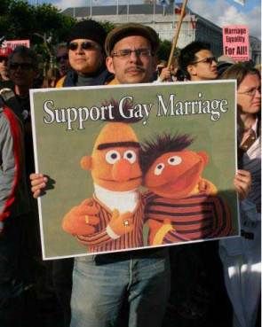 Support Gay Muppet Marriage