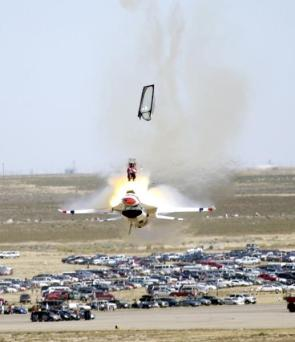 Gotta Go! Low Altitude Ejection