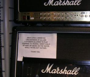 Music Store Petition