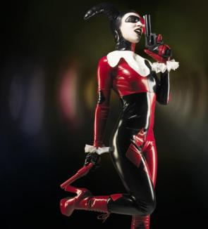 Harley Quinn With Pistol