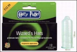 Harry Potter Wizard Hats – premium latex condoms for those magical moments