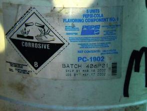 Corrosive Pepsi