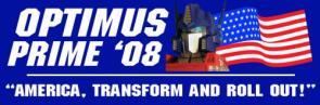 Optimus Prime in '08!