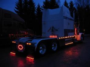 Lighted Semi