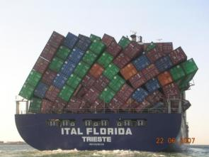 Shipping Container Accident