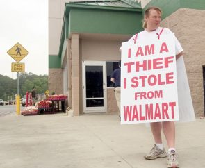 I Am A Thief I Stole From Wal-Mart