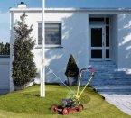 Flagpole Lawn Mower