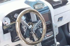 Twin Pistol Steering Wheel