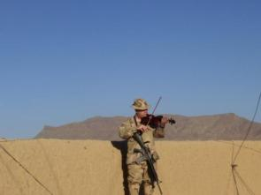 Military Violinist