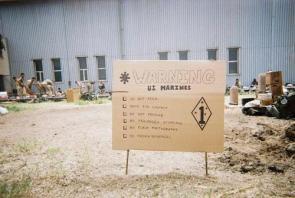 Warning U.S. Marines!