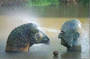 Weird Water Fountain