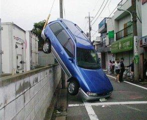 Acrobatic Car Accident