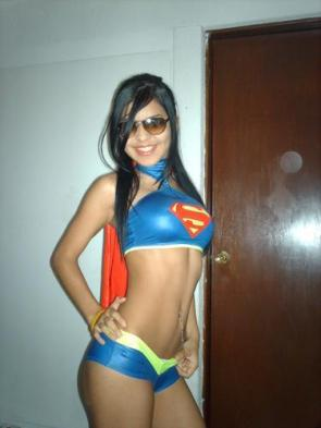 I see your wonder girl and raise you super girl.