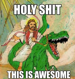 Awesome Jesus On Raptor