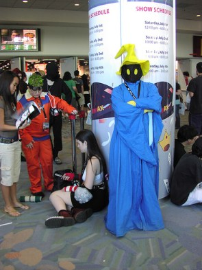 Final Fantasy Black Mage Cosplay