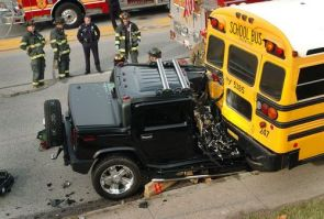 'Hummer' Versus 'The School Bus'