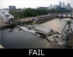 This bridge is fail