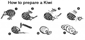 How To Prepare A Kiwi