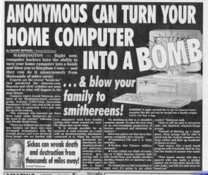 Anonymous can turn your home computer into a BOMB