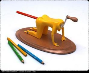 Pencil Ass Sharpener