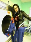 Baroness Doing Cobra Commander's Laundry