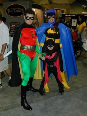 It's….The Bat Family
