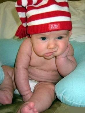 Unimpressed Baby
