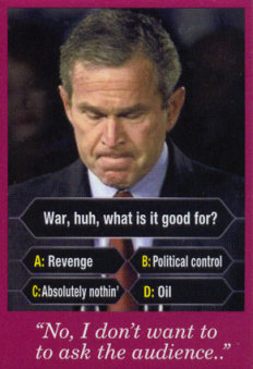 Bush on Who Wants To Be A Millionaire