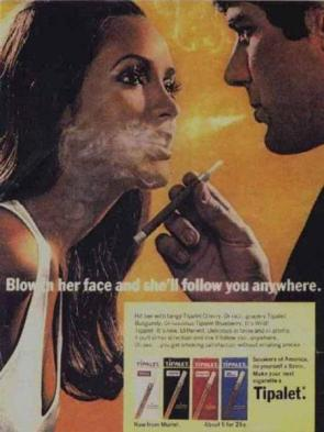 Tipalet Cigarette Advertisement