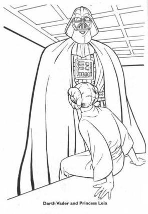 Suggestive Star Wars Coloring Book