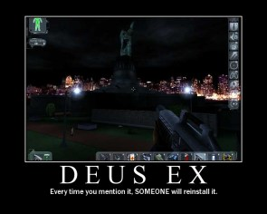 Deus Ex Motivational Poster