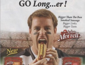 Go Longer…er!  Weiner Advertisement