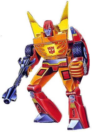Transformers – Hot Rod