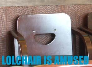 LoL Chair is amused