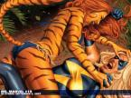 Tigra Vs Ms Marvel Wallpaper