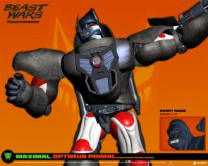 Transformers – Optimus Primal Wallpaper
