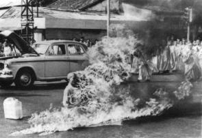 Religious Burn Victim