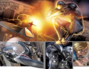 Fantastic Four Vs Silver Surfer