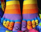 Happy Toe Socks