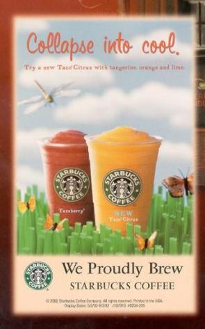Starbucks 9-11 Advertisement