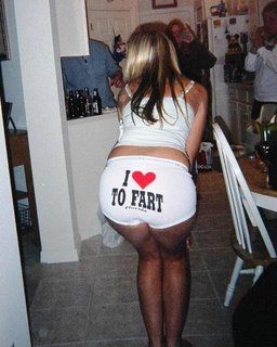 I Love To Fart…