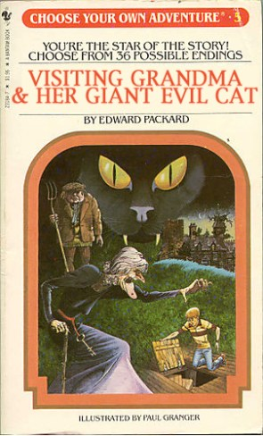 Choose Your Own Adventure – Visiting Grandma & Her Giant Evil Cat