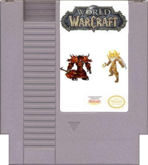 World Of Warcraft NES Game