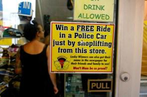 Free Police Car Ride