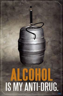 Alcohol – My Anti-Drug