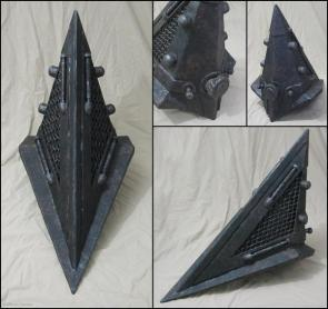 Pyramid head helmet