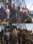 Pirates Motion-Capture Suits